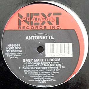 商品詳細 : ANTOINETTE(12)BABY MAKE IT BOOM