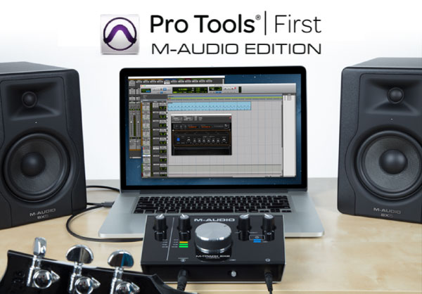 PRO TOOLS FIRST M-AUDIO EDITION