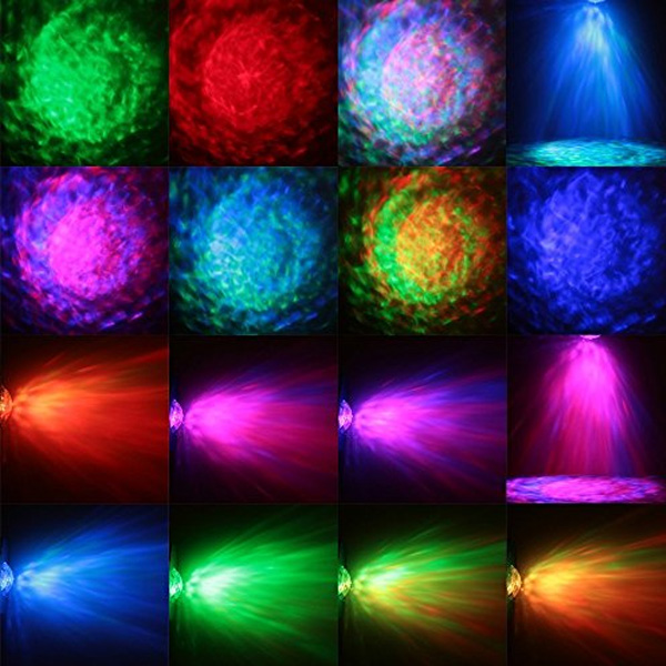 PLAY ON LED WATER RIPPLE LIGHT