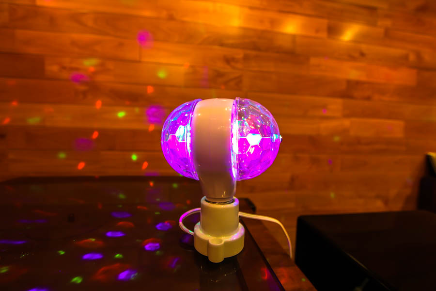 PLAY ON,LED full color rotating lamp,SD-WT823