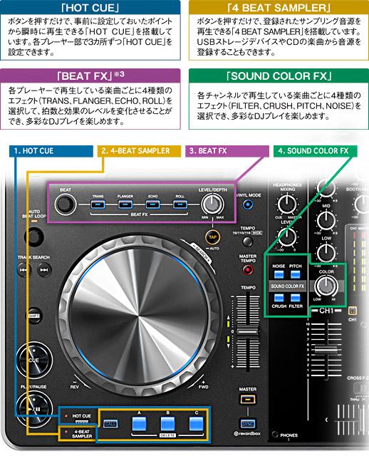 Pioneer XDJ-R1 詳細4