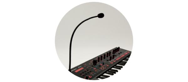 オート・ピッチ、ボコーダーなどのエレクトロ・ボイスを奏でるボーカル機能